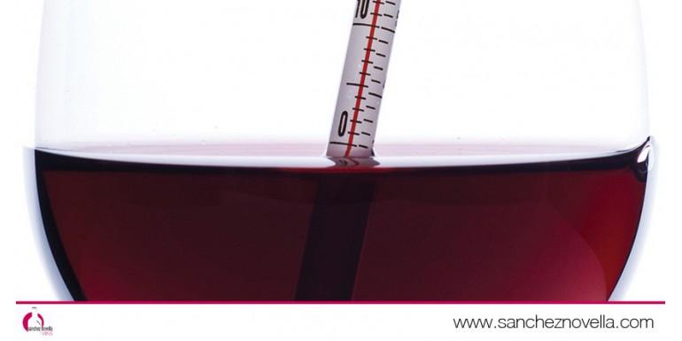 ¿A qué temperatura se tiene que servir el vino?